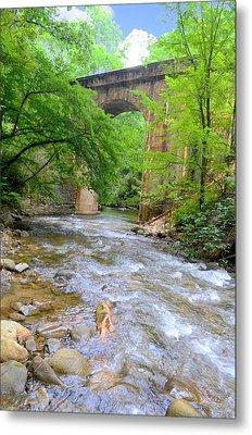 Mill Creek Viaduct Metal Print by Bob Jackson
