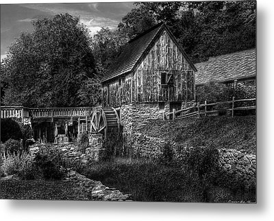 Mill - The Mill Metal Print by Mike Savad