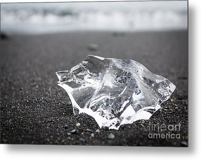 Metal Print featuring the photograph Millennium Ice by Peta Thames