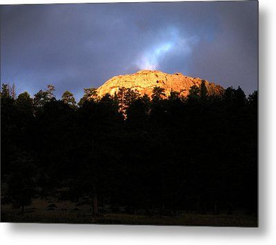 Metal Print featuring the photograph Miller Moth Mountain by Craig T Burgwardt
