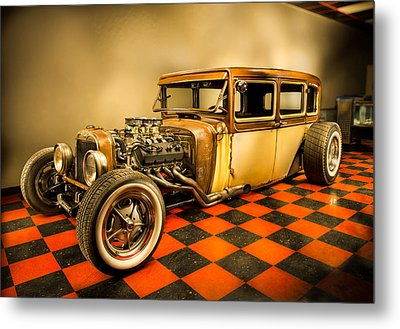 Millers Chop Shop 1929 Dodge Victory Six After Metal Print by Yo Pedro