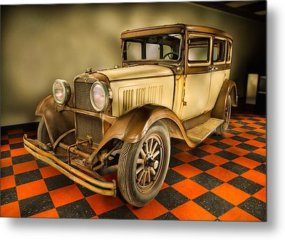 Millers Chop Shop 1929 Dodge Victory Six Before Metal Print by Yo Pedro