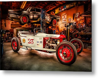 Millers Chop Shop Track T Toyota Metal Print