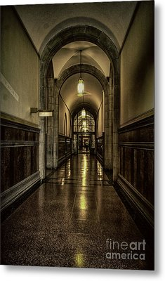 Million Dollar Hallway Metal Print