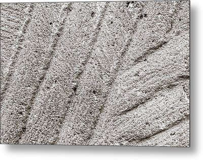 Millstone In Abstract Metal Print