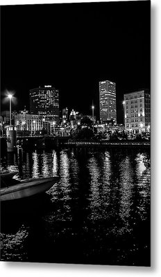Milwaukee Downtown Third Ward Metal Print