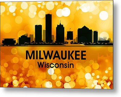 Milwaukee Wi 3 Metal Print