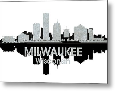 Milwaukee Wi 4 Metal Print by Angelina Vick