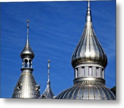 Minarets Of Tampa - Photography By Sharon Cummings Metal Print by Sharon Cummings