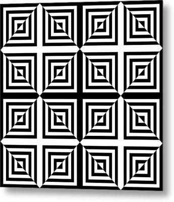 Mind Games 28 Metal Print