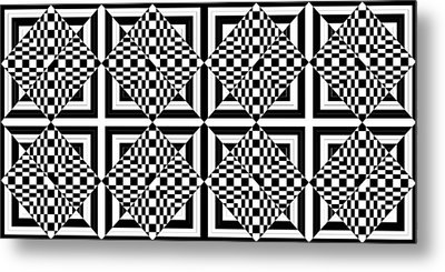 Mind Games 47 Metal Print