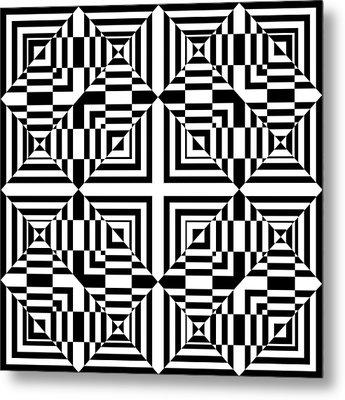 Mind Games 49 Metal Print