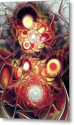 Mind Meld Metal Print by Anastasiya Malakhova