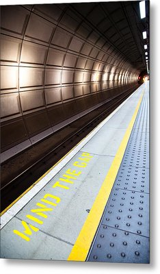 Mind The Gap Metal Print by Adam Pender