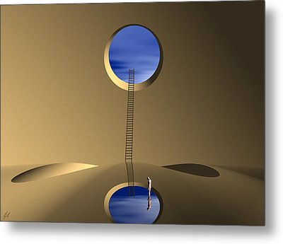 Mind Well Metal Print