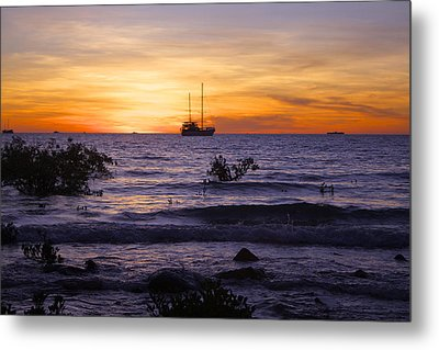 Mindil Beach Sunset Metal Print by Venetia Featherstone-Witty