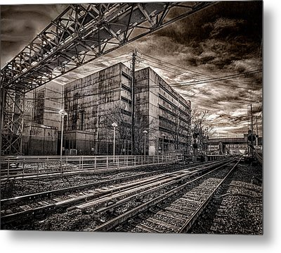 Metal Print featuring the photograph Mineola Station by Steve Zimic