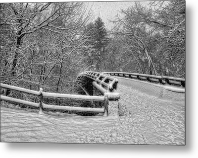 Mine Falls Park - Nashua New Hampshire Metal Print by Joann Vitali