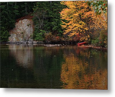 Metal Print featuring the photograph Minge Cove by Mim White
