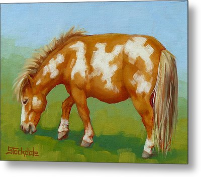 Metal Print featuring the painting Mini Paint Mini Painting by Margaret Stockdale
