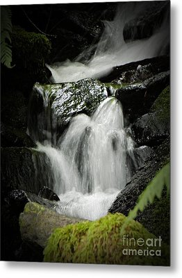 Mini Waterfall 2 Metal Print