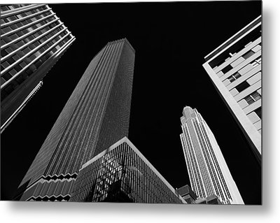 Minneapolis After Dark Metal Print