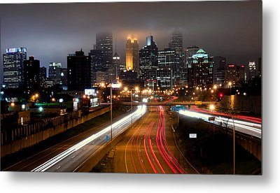 Metal Print featuring the photograph Minneapolis Skyline Mn by RC Pics