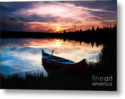 Minnesota Sunset Metal Print
