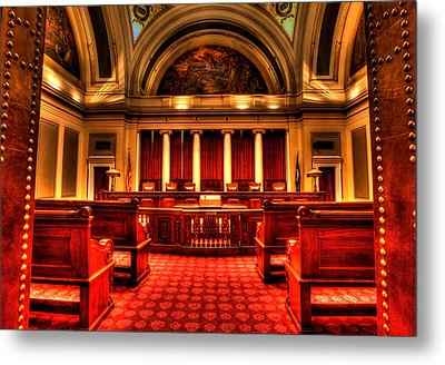 Minnesota Supreme Court Metal Print