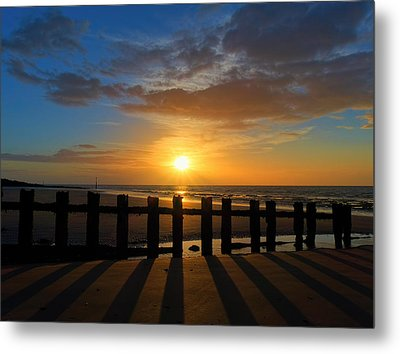 Minnis Bay Sunset Metal Print