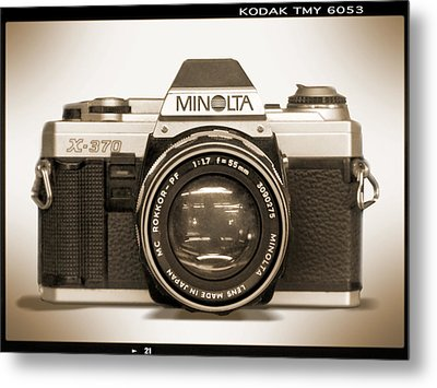Minolta X-370 Metal Print by Mike McGlothlen