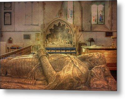 Minster Abbey Interior Metal Print