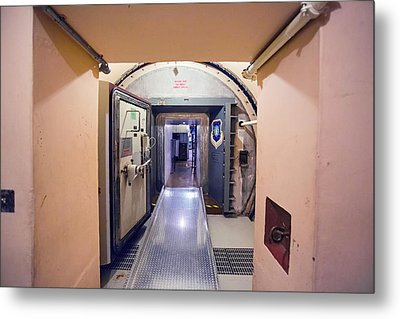 Minuteman Missile Control Facility Metal Print by Jim West