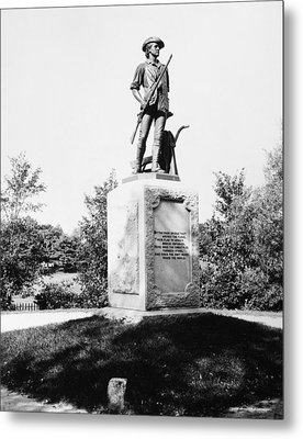 Minuteman Statue Metal Print by Granger