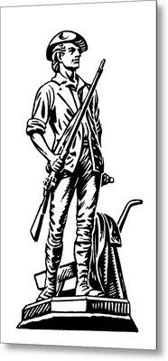 Minutemen Metal Print by Granger