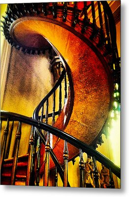 Metal Print featuring the photograph Miracle Staircase by Paul Cutright