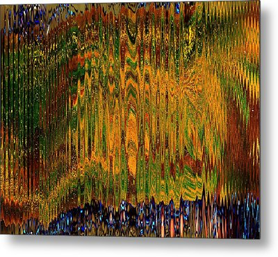 Mirage From The Ancients Metal Print