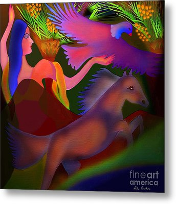 Mirage Metal Print by Latha Gokuldas Panicker