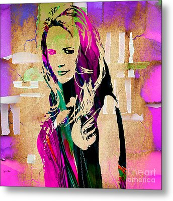 Miranda Lambert Collection Metal Print by Marvin Blaine