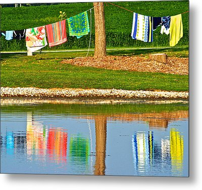 Mirror Image Metal Print by Frozen in Time Fine Art Photography