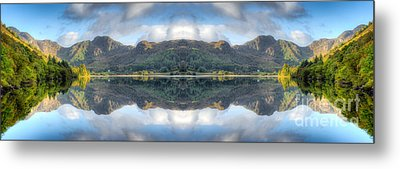 Mirror Lake Metal Print by Adrian Evans