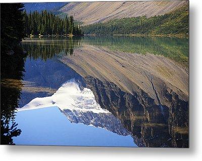 Mirror Lake Banff National Park Canada Metal Print by Mary Lee Dereske