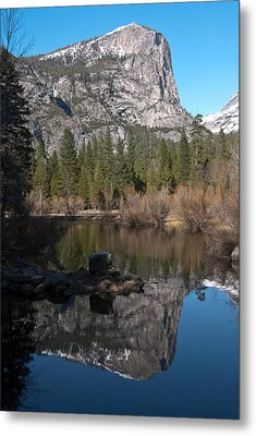 Metal Print featuring the photograph Mirror Lake Yosemite by Shane Kelly