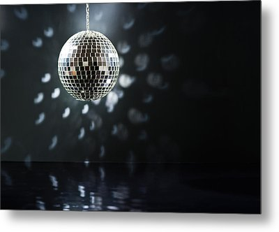 Mirrorball Metal Print by Ulrich Schade