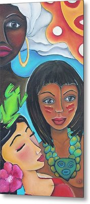 Mis Raices - My Roots Metal Print by Janice Aponte