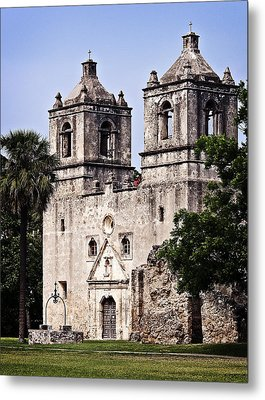 Metal Print featuring the photograph Mission Concepcion by Andy Crawford