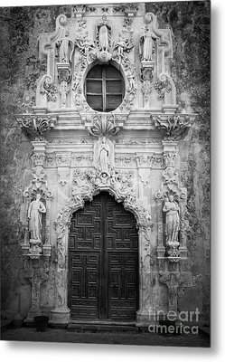 Mission Entrance Metal Print by Inge Johnsson
