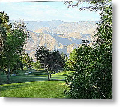 Mission Hills Golf Metal Print by Randall Weidner