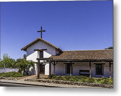 Mission San Francisco Solano Metal Print