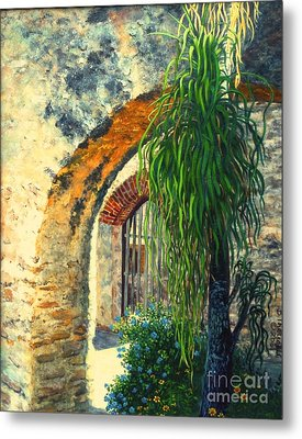 Mission San Jose Metal Print by Beverly Theriault